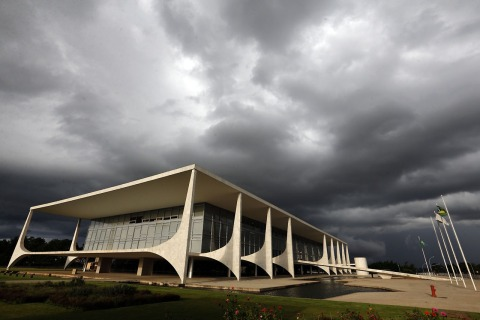 CHUVA/PALACIO DO PLANALTO