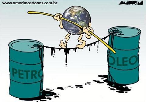 Resultado de imagem para produtor de petroleo - charges